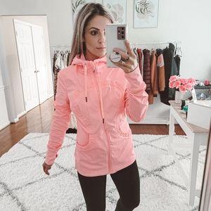 Lululemon pink reversible dance studio III jacket